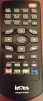 Original remote control INVES Iplayer80MKV
