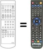 Replacement remote control Cosmel 3747