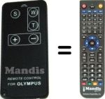 Replacement remote control Olympus 300