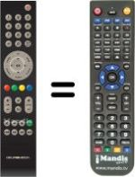 Replacement remote control CCC-Group 2299-595